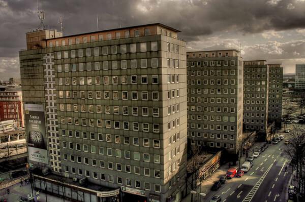 Diese hässlichen Hochhäuser stehen unter Denkmalschutz