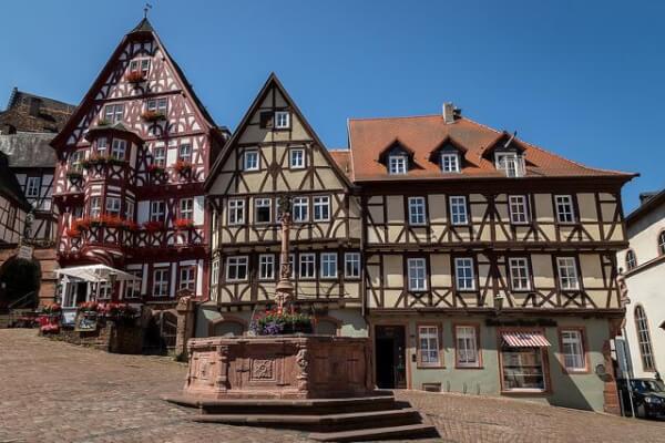 Fachwerkhäuser in Miltenberg: einfach schön.